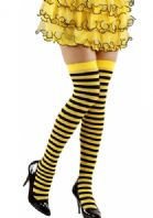 Bumble Bee Thigh Highs - Plus Size